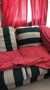 two black and red throw pillows Mendon, 01756