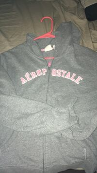 gray and pink Pink by Victoria's Secret hoodie 1296 mi