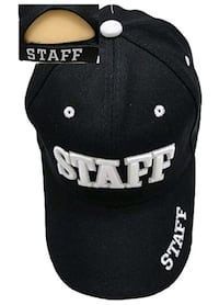 Staff 3D Embroidered Baseball Cap (Brand New) Toronto, M4M 3G6