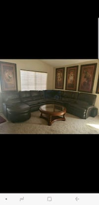 Leather Couch Surprise, 85379