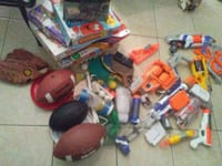 assorted toys and games.  Baton Rouge, 70820