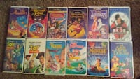 Disney VHS Movies $1 each or $10 for all 12 San Antonio, 78216