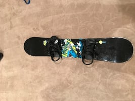 Morrow Snowboard with Boots and Bag
