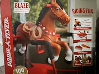 Radio Flyer, Blaze Interactive Spring Horse, Ride-on with Sounds Omaha, 68116