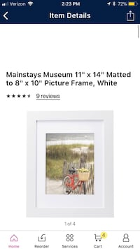 White picture frame  Simpsonville, 29681