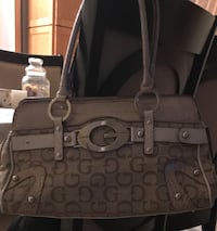 brown and black Coach leather tote bag Windsor, N8R 2E6
