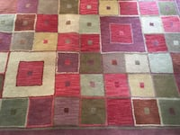 brown, red, and white area rug Springfield, 22153
