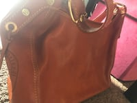women's brown leather shoulder bag Concord, 94520