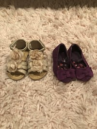 Baby sandals and purple shoes Ceres, 95307