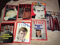 Vintage magazines! Four Time magazines, One Newsweek, and One Rolling stone Baltimore, 43105
