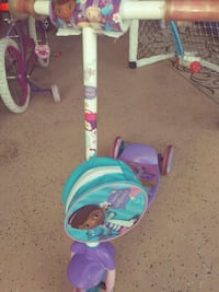 toddler's blue and purple push trike Port St. Lucie, 34983