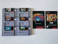 Super Nintendo Games and Manuals Mississauga, L4Z 0A5
