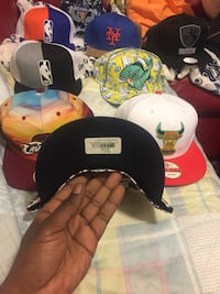 Assorted-colored-and-team fitted cap lot Fayetteville, 28314