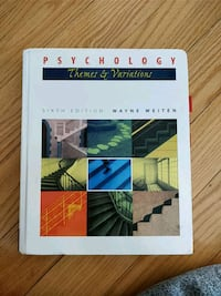Psychology - themes & variations 6th ed Mississauga, L4W 3P4