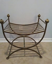 VINTAGE WROUGHT IRON CHAIR/BENCH Winchester, 92596