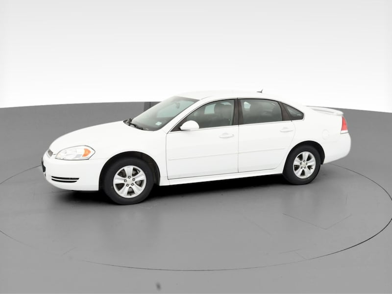 2014 Chevy Chevrolet Impala Limited sedan LS Sedan 4D White  3