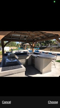 Contracting Bbq Island outdoor kitchen gazebo combo special