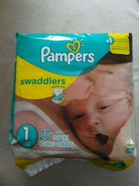 Pampers Swadders (size 1) District Heights, 20747
