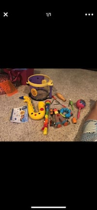 toddler's assorted toys Spring, 77382