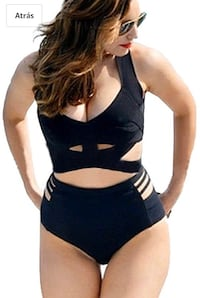 Plus size swimsuit new 2 pieces size xxl