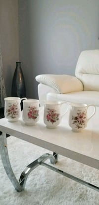 BRAND NEW Set of 4 Tienshan Fine Bone China Cups Oakville, L6H 4V7