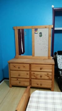 brown wooden dresser with mirror Tallahassee, 32308