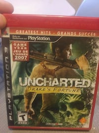 Uncharted 3 Drake's Deception PS3 game case Edmonton, T5Y 2H2