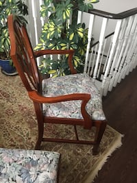 6 antique mahogany dining chairs Barrie, L4N 8P5