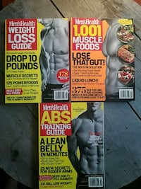 Lot of 3 men's health guides from 2011/2012 Lynchburg, 24502