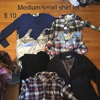 Women's Sm and med T-shirt lot