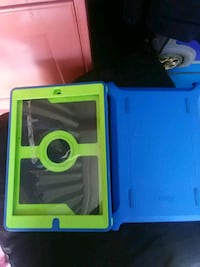 blue and green OtterBox iPad flip case San Marcos, 78666