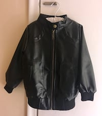 Faux Leather Jacket for 3 / 4 year old Like New Plantation, 33324