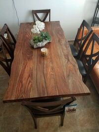 Table plus 6Chairs