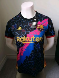 Barcelona City edition Jersey  Mississauga, L5B 0A1