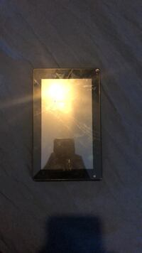 black Sony Xperia android smartphone null