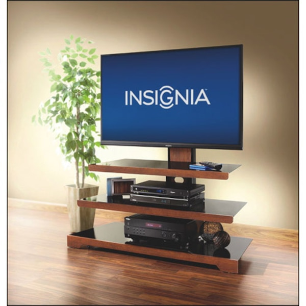 """Insignia Waterfall TV Stand for TVs Up To 50"""" (NS-3IN1MT50C-C)"""