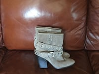 Libby edelman suede boot 7M