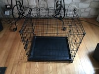 Collapsable dog crate