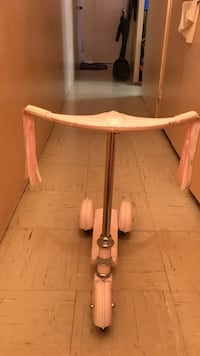 Kick scooter for children  pink  Morgan Cycle Usa clasic