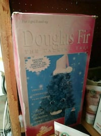 1997 classic collectable Douglas fir talking tree