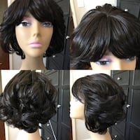 women's black hair wig Fullerton, 92835