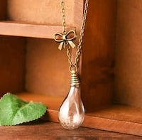 New dandelion seed wish glass bulb pendant Montreal, H8T