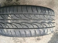 black auto tire with tire Griswold, 06351