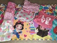 4T Long Sleeve Girls PJ