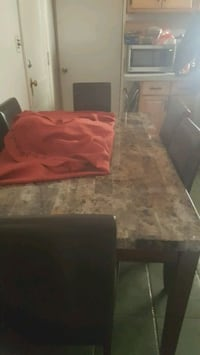 marble top dinning room table Emerson, 07630