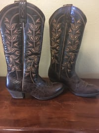 Brown Ariat Boots Ames, 50014