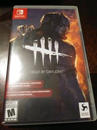 NINTENDO SWITCH DEAD BY DAYLIGHT VIDEO GAME