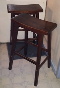 Saddle seat bar stools. Wood Boonville, 47601