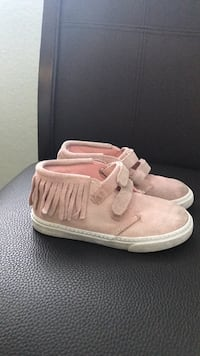 Toddler's pair of pink suede shoes from Gap  Antelope, 95843