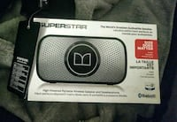 BRAND NEW Monster Superstar Speaker Reg $109